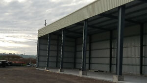 Pre-Engineer Steel Buildings/Foundations/Erection Services