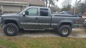 2001 Chevrolet Silverado 1500 Z71 lifted