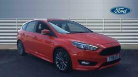 image for 2018 Ford Focus 1.0 EcoBoost 140 ST-Line Navigation 5dr Petrol Hatchback Hatchba