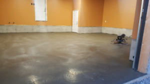 Concrete Floors, Stamped Concrete, Parging & everything else!