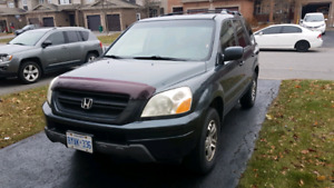 2004 Honda PILOT Ex-L, winter tires, heated seats, more