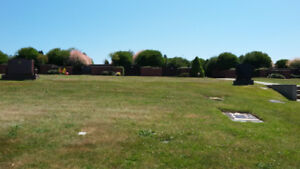 2 side-by-side plots at Forest Lawn Cemetery