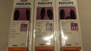 Philips High Speed HDMI Cable Belleville Belleville Area image 1