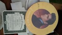 ELVIS GOLD JAIL HOUSE ROCK COLLECTOR PLATE