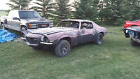 1971 Z28 RS Chevrolet Camaro project real car!