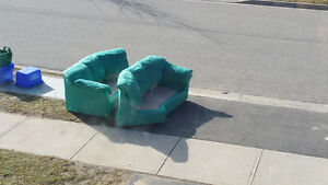 Free sectional couch...
