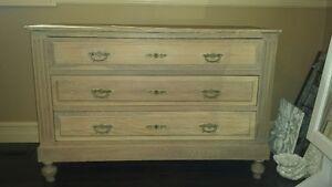 2 beautiful antique dressers