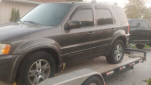 03 ford escape limited