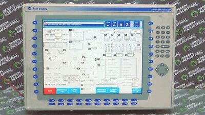 Used Allen Bradley 2711p-k15c6b1 Panelview Plus 1500 Operator Interface Ser. A