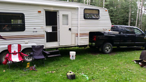 2001 Qwest by Jayco 253D fifth wheel camper