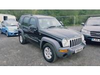 2004 Jeep Cherokee 2.5CRD ( 141bhp ) 4X4 Sport