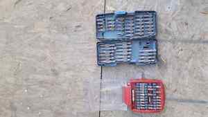 Sets of drill bits 15 each or 60 for all