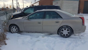 2003 Cadillac CTS Auto Base Sedan 2995.00 or 1500.00 AS IS