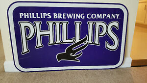 Vintage Phillips Brewing Company Sign