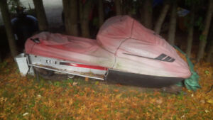 Snowmobiles and Cutter for sale