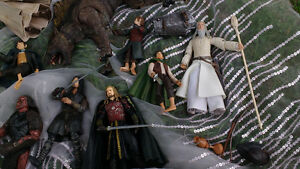 Seigneur des anneaux Lord of the rings figures personnages