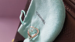 Tiffany & co silver heart ring