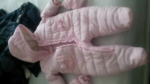 Snow suit for toddler girl 6-9