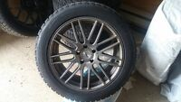 BMW X6 WINTER TIRE AND RIMS PACKAGE! 95% TREAD! SAVE SAVE SAVE