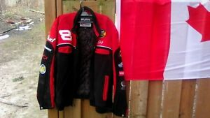 Wilson leather racing jacket unisex sz L London Ontario image 1