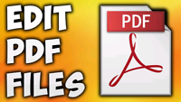 PDF EDITING SERVICES AS LOW AS $20