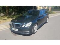 2012 Mercedes-Benz E220 CDI BlueEFFICIENCY 7G-Tronic Auto Estate Black 2 Keys