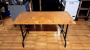 PLYWOOD TABLE - RECTANGLE/SQUARE - 8/6/4 LONG
