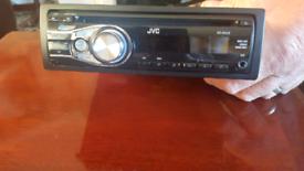 JVC stero car radio built in C/D player