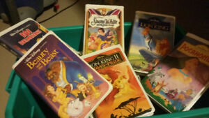 Disney classic VHS cassettes and more approx 30