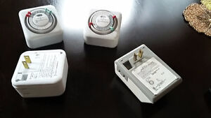 Timers - for indoor lights, security, Christmas lights, etc.