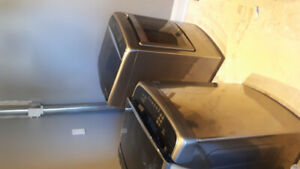 Nearly new LG Steam, high capacity washer dryer pair