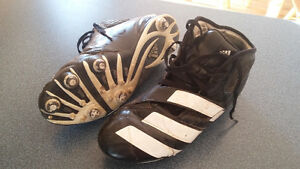 size 9 cleats high top Adidas London Ontario image 1