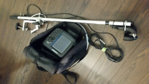 PORTABLE HUMMINBIRD 385ci FISHFINDER/GPS