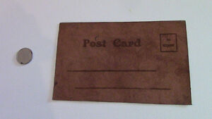 Unused Leather Postcard: From A Canadian Boy Kitchener / Waterloo Kitchener Area image 2