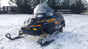 Trade for double on enclosed snowmobile trailer