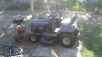 murray 16hp lawntractor /poulin pro 300 19hp