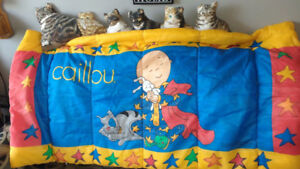 Beau sleeping bag de Caillou DOLL **I SHIP**