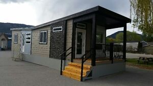 Park Model - Tiny House MODULINE BUTTERFLY ROOF
