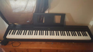 Yamaha P45 Digital Piano w/ power cord, sustain pedal