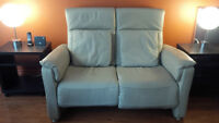 Causeuse Inclinable Cuir - Canapé Sofa Divan - Made in Germany