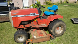 Massey furguson 1655 tractor with spare motor