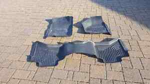 Husky Weatherbeater Floor Mats Dodge Ram Quad Cab 2009 to 2015