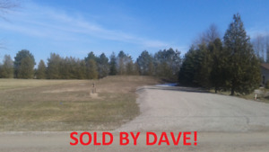 JUST SOLD... Lakeside Lot in Bluewater!