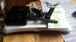 Wii system with balance board,Wii Fit Plus and Wii Sports
