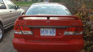 1999 Infiniti G20 Cream Sedan