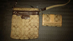 Coach purse and matching wallet London Ontario image 1