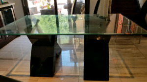 Beautiful Designer Dining Table Glass Top