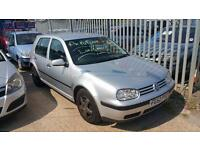 VOLKSWAGEN GOLF 1.6 ** PART EXCHANGE TO CLEAR ** 2002 Petrol Manual in Silver