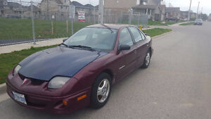 2002 Pontiac Sunfire Sedan - as is condition