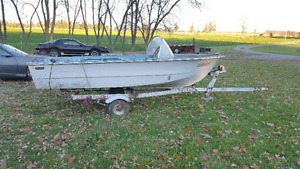 14' BOAT NO TRAILER